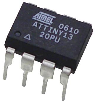 Микроконтроллер Attiny13 в корпусе 8-PDIP